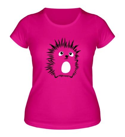 Женская футболка Маленький ежонок