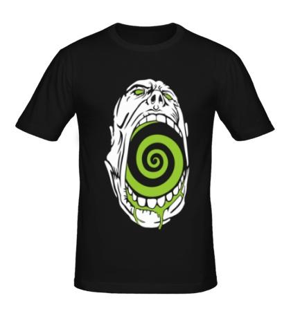 Мужская футболка Гипноз черепа
