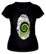 Женская футболка «Гипноз черепа» - Фото 1