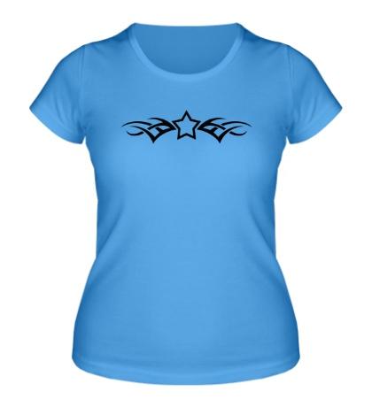 Женская футболка Тату-звезда