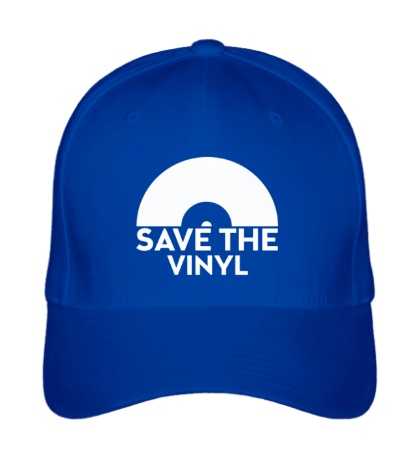 Бейсболка Save the vinyl