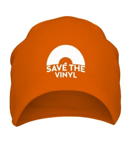 Шапка Save the vinyl