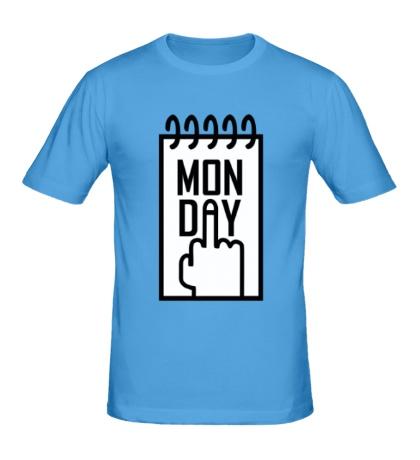 Мужская футболка Понедельник, Monday