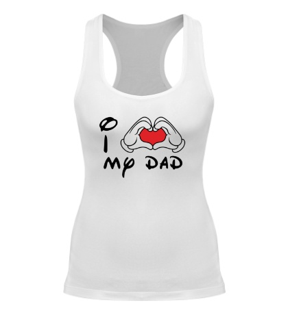 Женская борцовка I love my dad