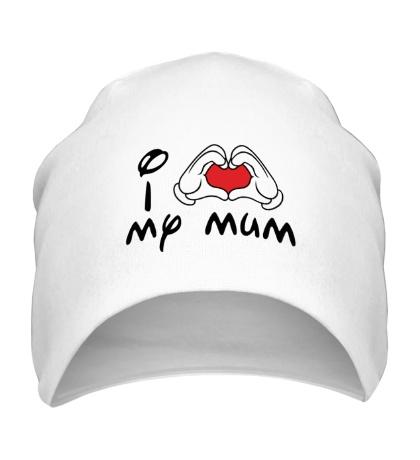 Шапка I love my mum