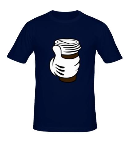 Мужская футболка I like coffee