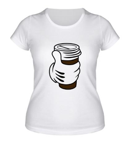 Женская футболка I like coffee