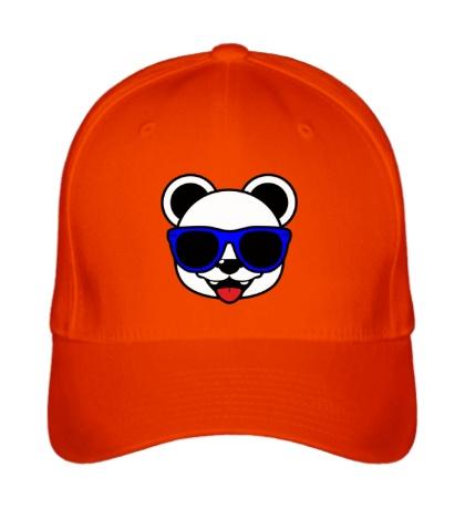 Бейсболка Веселая панда в очках