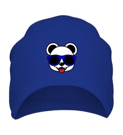 Шапка Веселая панда в очках