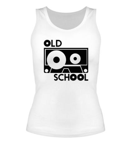 Женская майка Old School