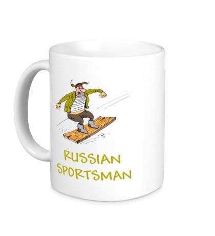 Керамическая кружка Russian Sportsman