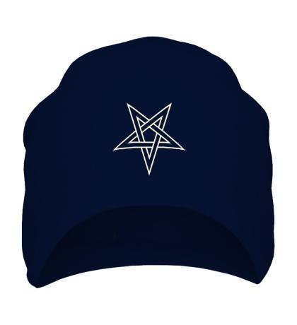 Шапка Звезда-пентаграмма, свет