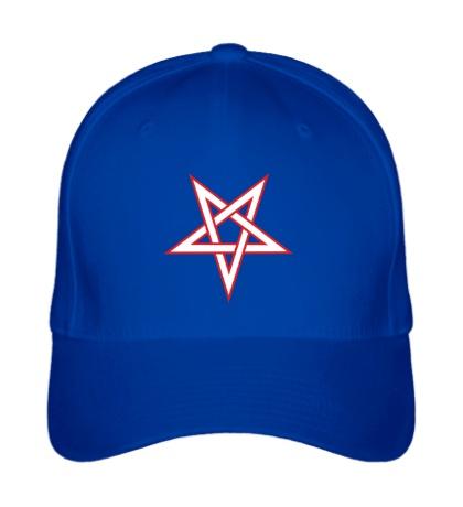 Бейсболка Звезда-пентаграмма