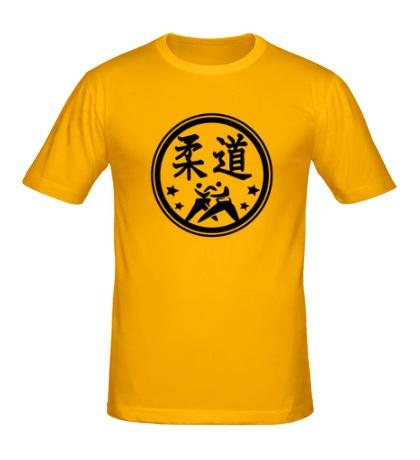 Мужская футболка Символ Дзюдо