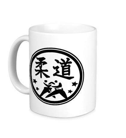 Керамическая кружка Символ Дзюдо