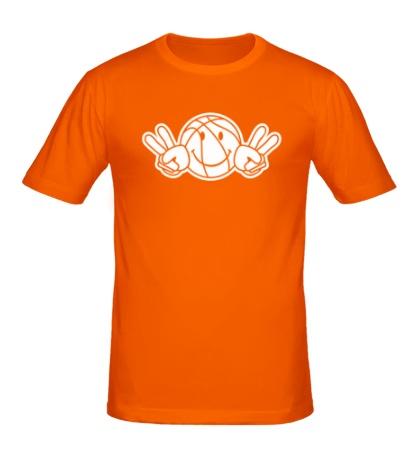 Мужская футболка Баскетбольный смайл