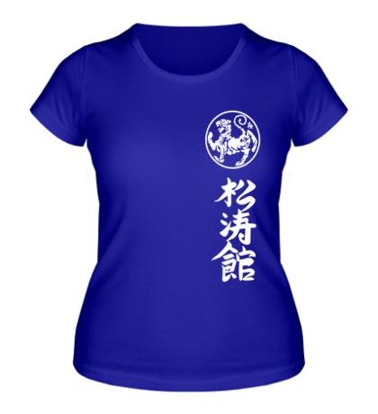 Женская футболка Шотокан карате