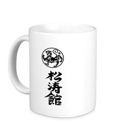 Керамическая кружка Шотокан карате