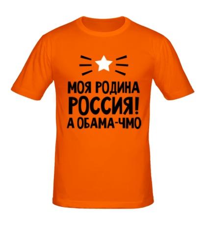 Мужская футболка Моя родина Россия