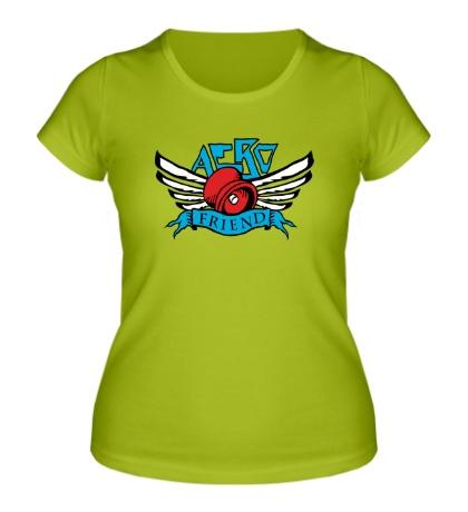 Женская футболка Aero friend