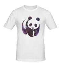 Мужская футболка Космическая панда