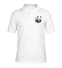 Рубашка поло Космическая панда