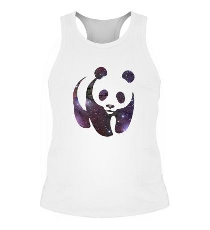 Мужская борцовка Космическая панда