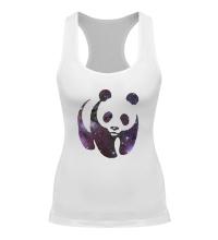 Женская борцовка Космическая панда