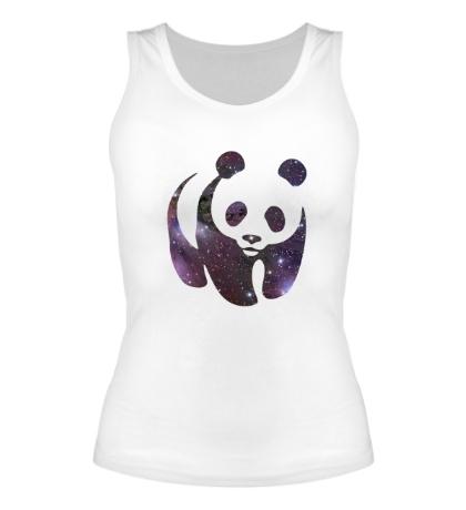 Женская майка Космическая панда