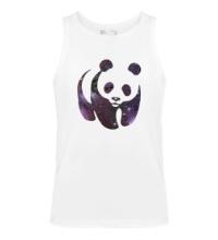 Мужская майка Космическая панда
