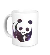 Керамическая кружка Космическая панда