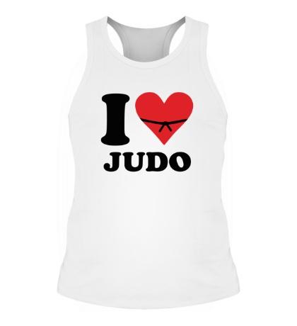 Мужская борцовка I love Judo