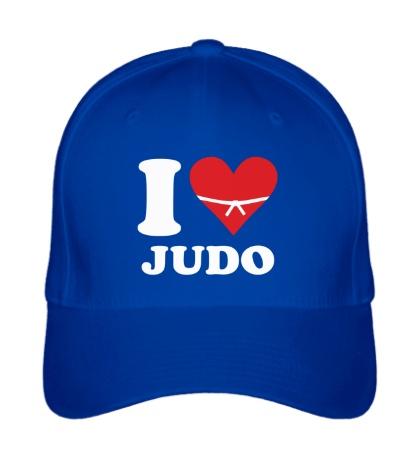 Бейсболка I love Judo