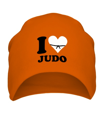 Шапка I love Judo