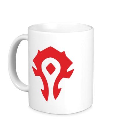 Керамическая кружка Horde Symbol