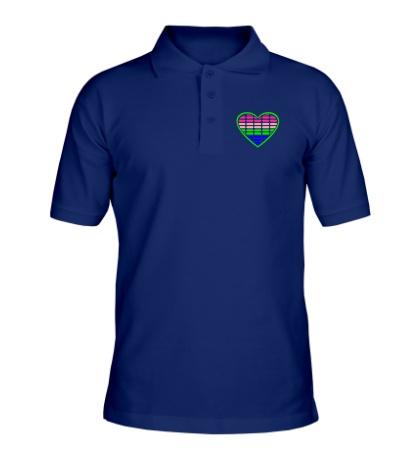 Рубашка поло Эквалайзер в сердце