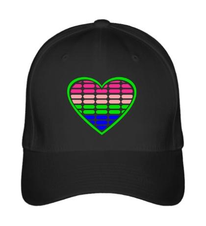 Бейсболка Эквалайзер в сердце