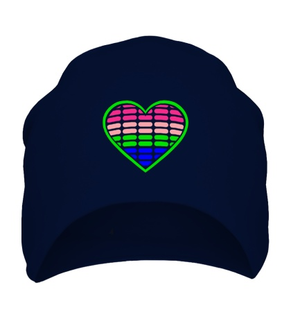 Шапка Эквалайзер в сердце