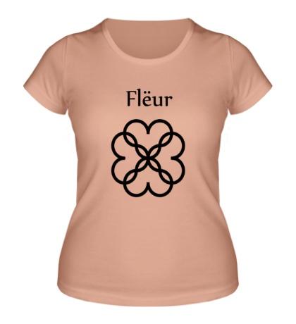 Женская футболка Fleur