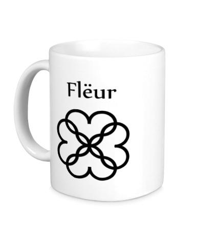 Керамическая кружка Fleur