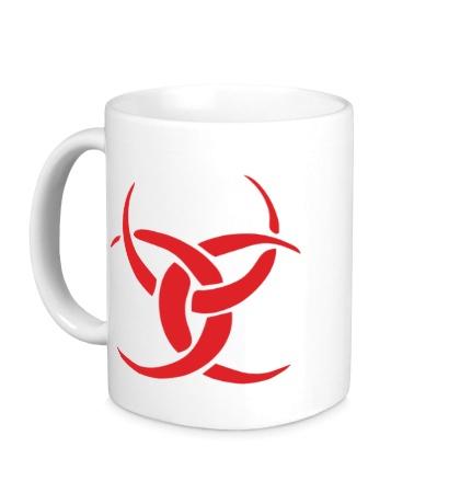 Керамическая кружка Символ ведьмы