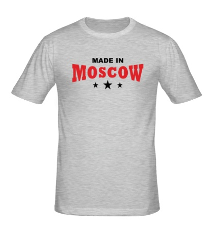 Мужская футболка Moscow made in