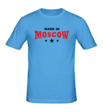 Мужская футболка Moscow made in