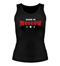 Женская майка Moscow made in
