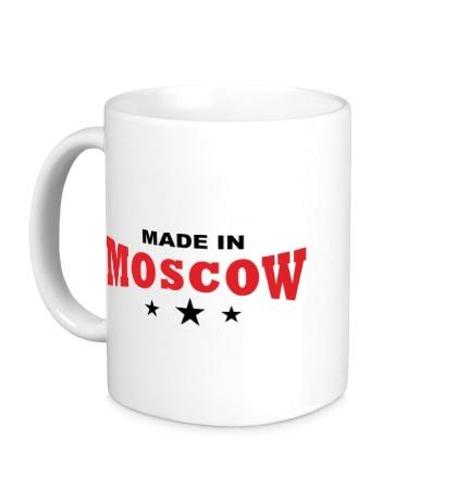 Керамическая кружка Moscow made in