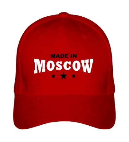 Бейсболка Moscow made in