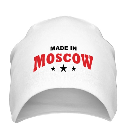 Шапка Moscow made in
