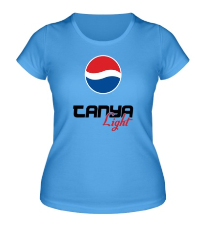 Женская футболка Таня Лайт