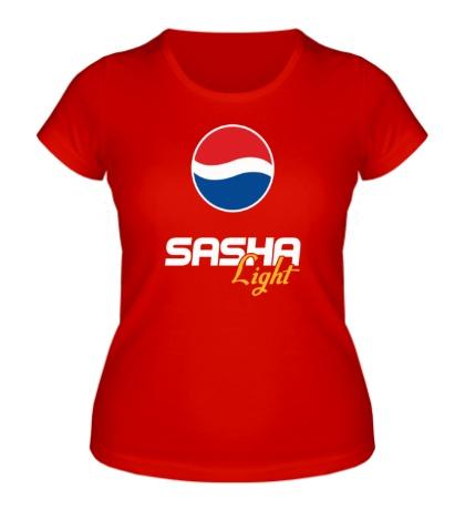 Женская футболка Саша Лайт