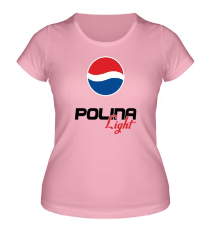 Женская футболка Полина Лайт